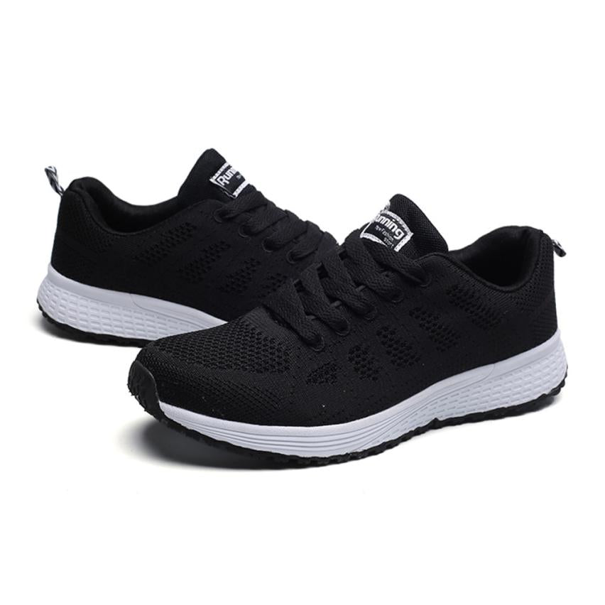 Costbuys  Sport shoes woman Air cushion Running shoes for women Outdoor Summer Sneakers women Walking Jogging Trainers - Black /