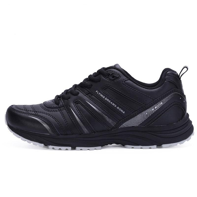 Costbuys  Men Running Shoes Outdoor Walking Jogging Shoes Breathable Sneakers Comfortable Athletic Shoes For Men - BLACK / 10