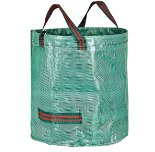 Costbuys  Garden Storage Bag Planting PE Growing Bags Grass Leaves Cleaning Bag Home Garden Supplies - 120L