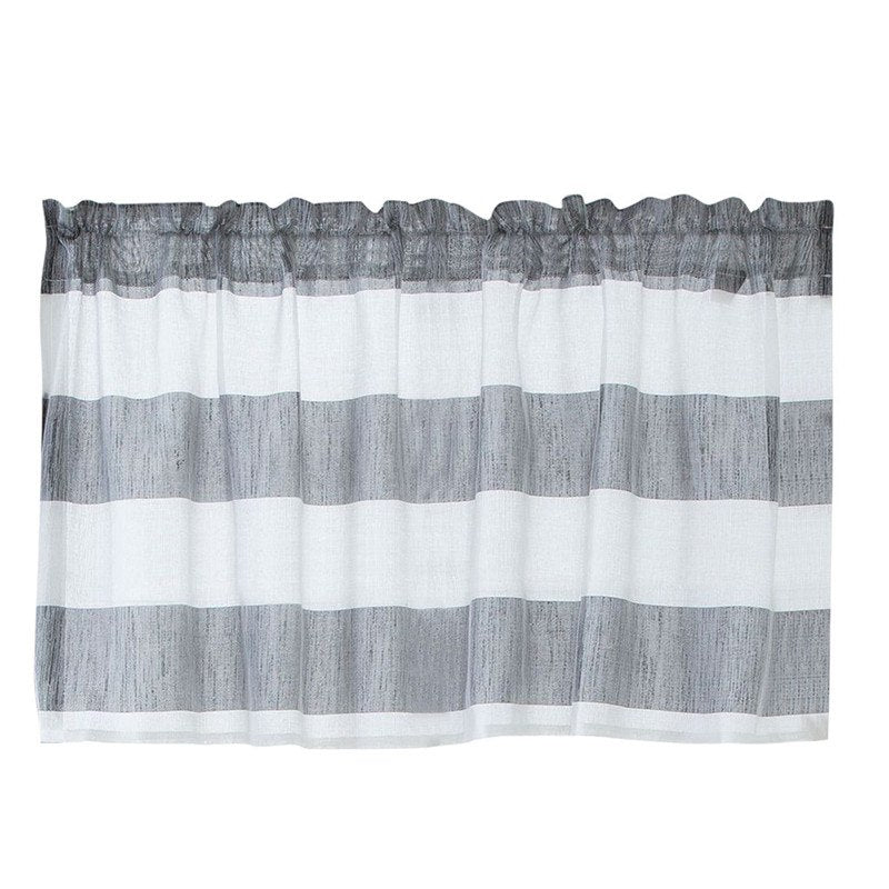 Costbuys  Valance Curtains Extra Wide and Short Window Treatment Kitchen Living Bathroom 10.15 - B