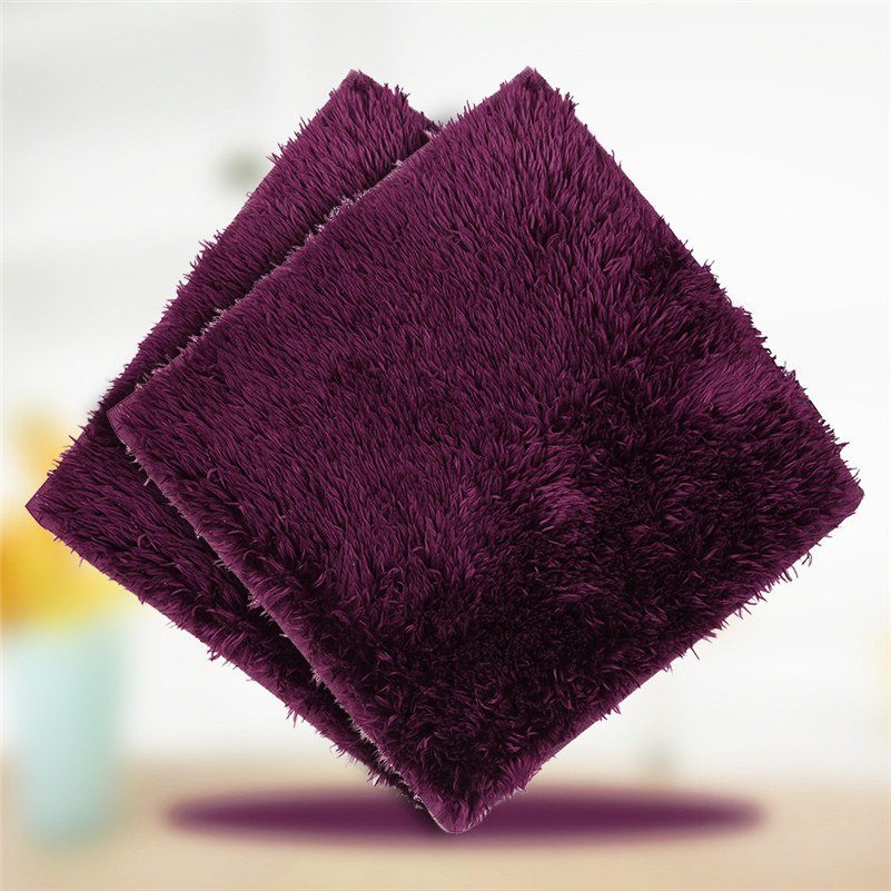 Costbuys  Quality Soft And Fluffy Carpet Anti-skid Carpet Dining Room Floor Mat Square Mat Shower Rug Non-slip - The carpet 6 /
