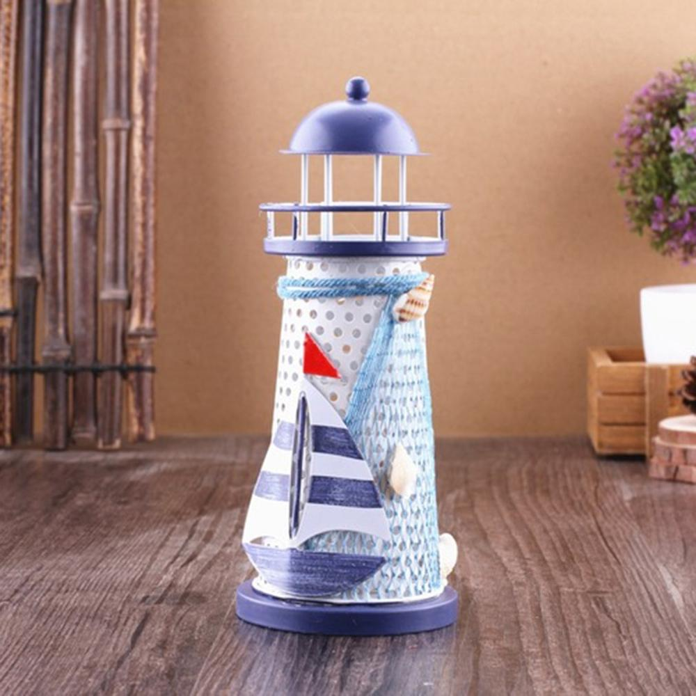 Costbuys  Style Handicraft Decoration With Lamp Marine home decoration accessories - Light Green
