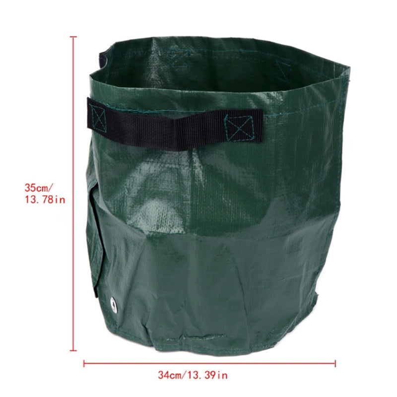 Costbuys  Potato Grow Bags Cultivation Bag Home Garden Supplies Garden Pots Planters Grow Bag Garden Accessories - Light Green