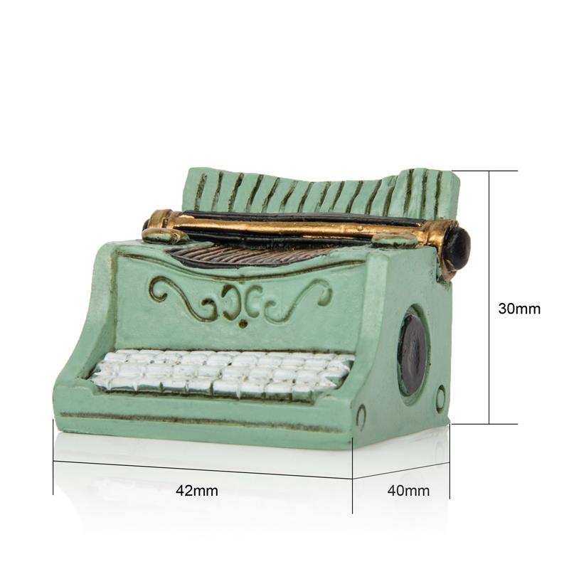 Costbuys  Vintage Miniature Doll House Furniture Sewing Machine Telephone Camera Ornaments Toys fairy garden home decoration acc