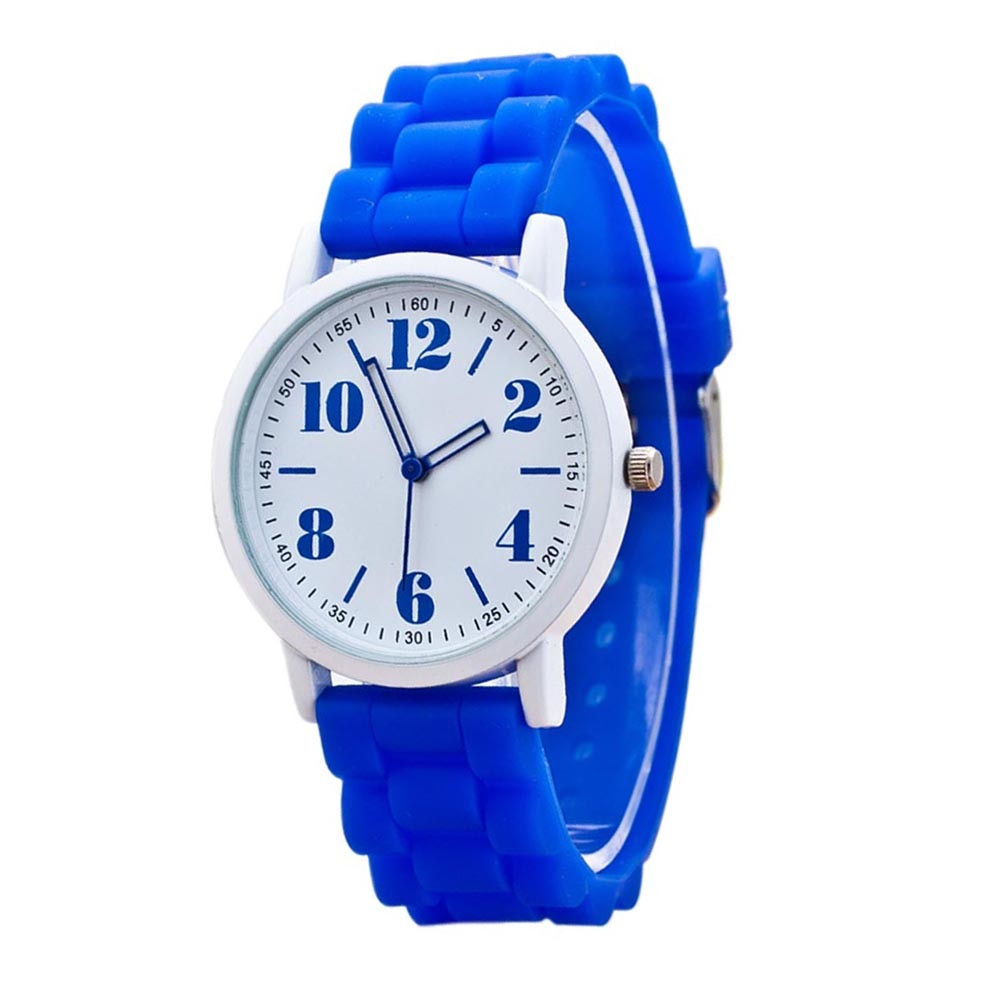 Costbuys  Casual Watch watch 7color men women Analog wristwatches Sports Watches Silicone watches - Blue