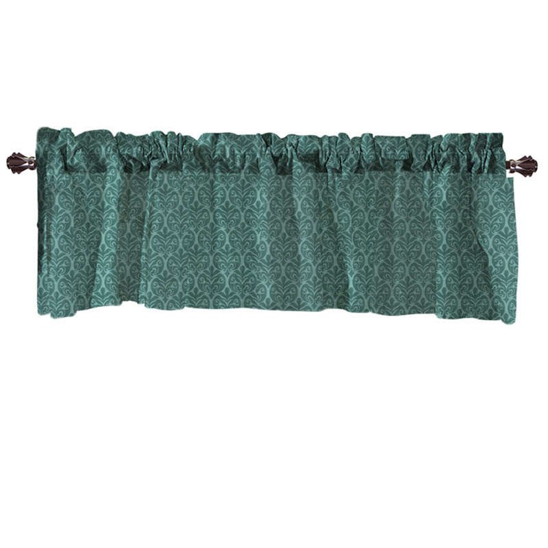 Costbuys  Valance Curtains Extra Wide and Short Window Treatment Kitchen Living Covering Valance Curtains for living room - A /