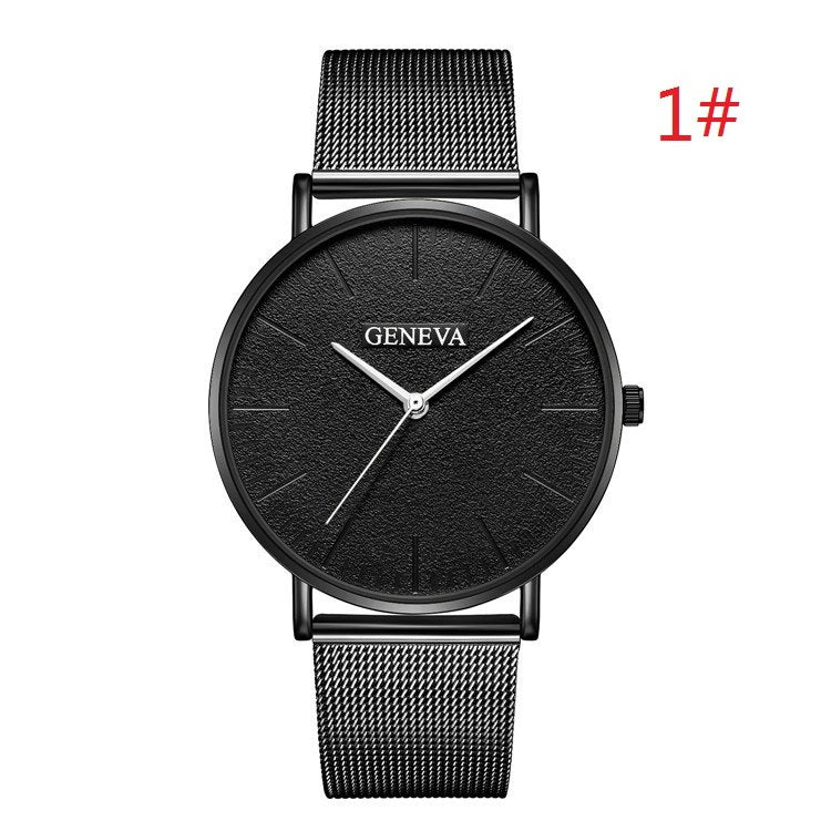 Costbuys  Women's Watch Ladies Watches For Women Rose Gold Watch Women Simple Bracelet Montre Femme - black 1 / China