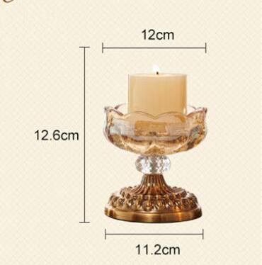 Costbuys  Fashion creative golden crystal home decoration accessories home accessories modern table accessories - small