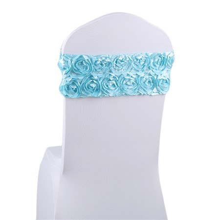 Costbuys  Home Wedding Decoration Chair Cover Sash Home Party Banquet 9 colors Fashion Generous Home Decor Chair Sashes 10pcs/ -