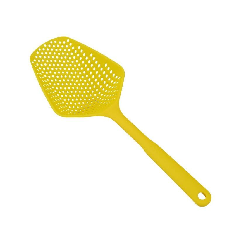 Costbuys  1Pc No-stick Plastic Drain Shovel Strainers Water Leaking Shovel Ice Shovel Fishing Fence Colanders Kitchen Gadget Coo