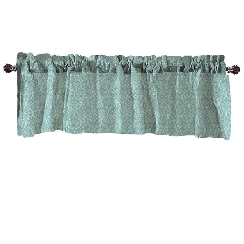 Costbuys  Valance Curtains Extra Wide and Short Window Treatment Kitchen Living Covering Valance Curtains for living room - B /