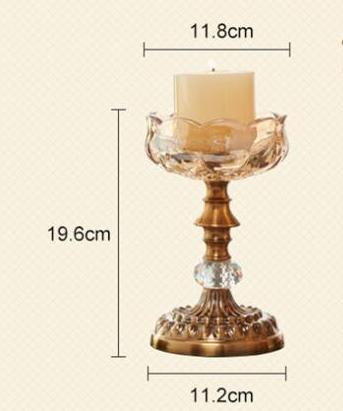 Costbuys  Fashion creative golden crystal home decoration accessories home accessories modern table accessories - large