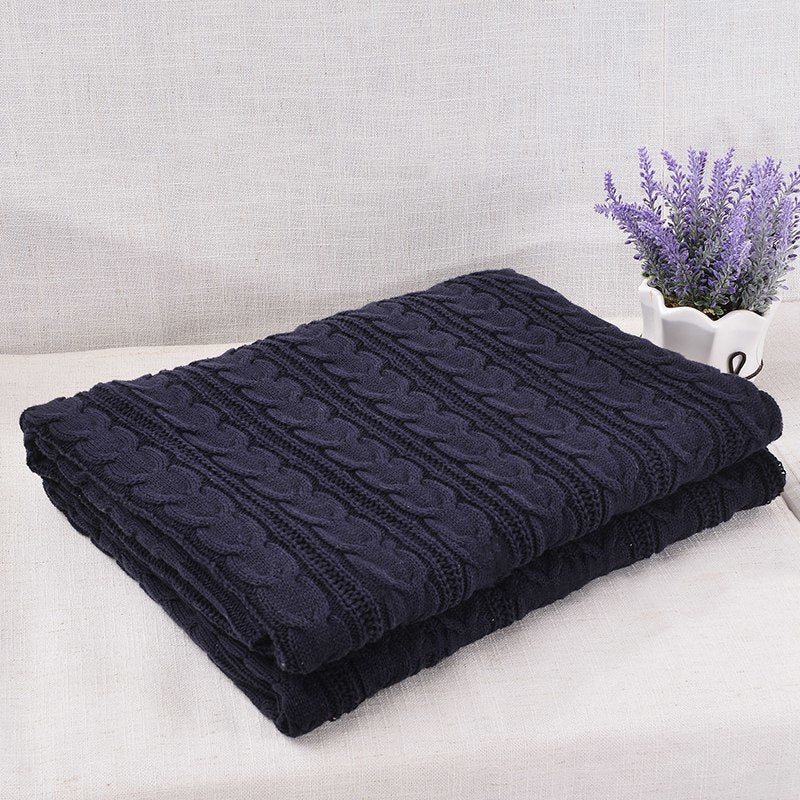 Costbuys  Blankets Beds Cover Soft Throw Blanket Bedspread Bedding Knitted Blanket Air Conditioning Comfy Sleeping Bedspreads -