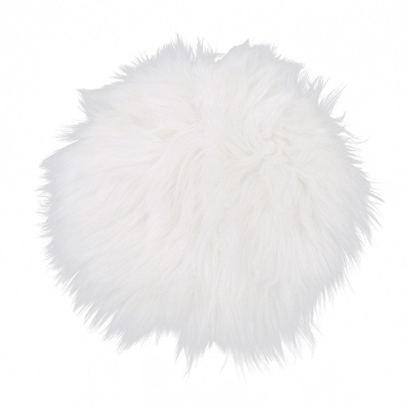 Costbuys  Quality Fluffy Carpet Floor Mat Round Fluffy Rug Non Slip Shower Bedroom Carpet Mat For Adults And Children Home Suppl