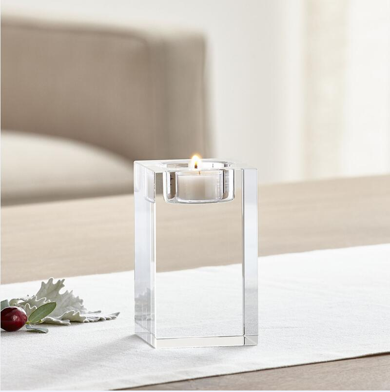 Costbuys  Crystal Candle Holder Home Decoration Accessories Home Accessories Modern Table Accessories - M