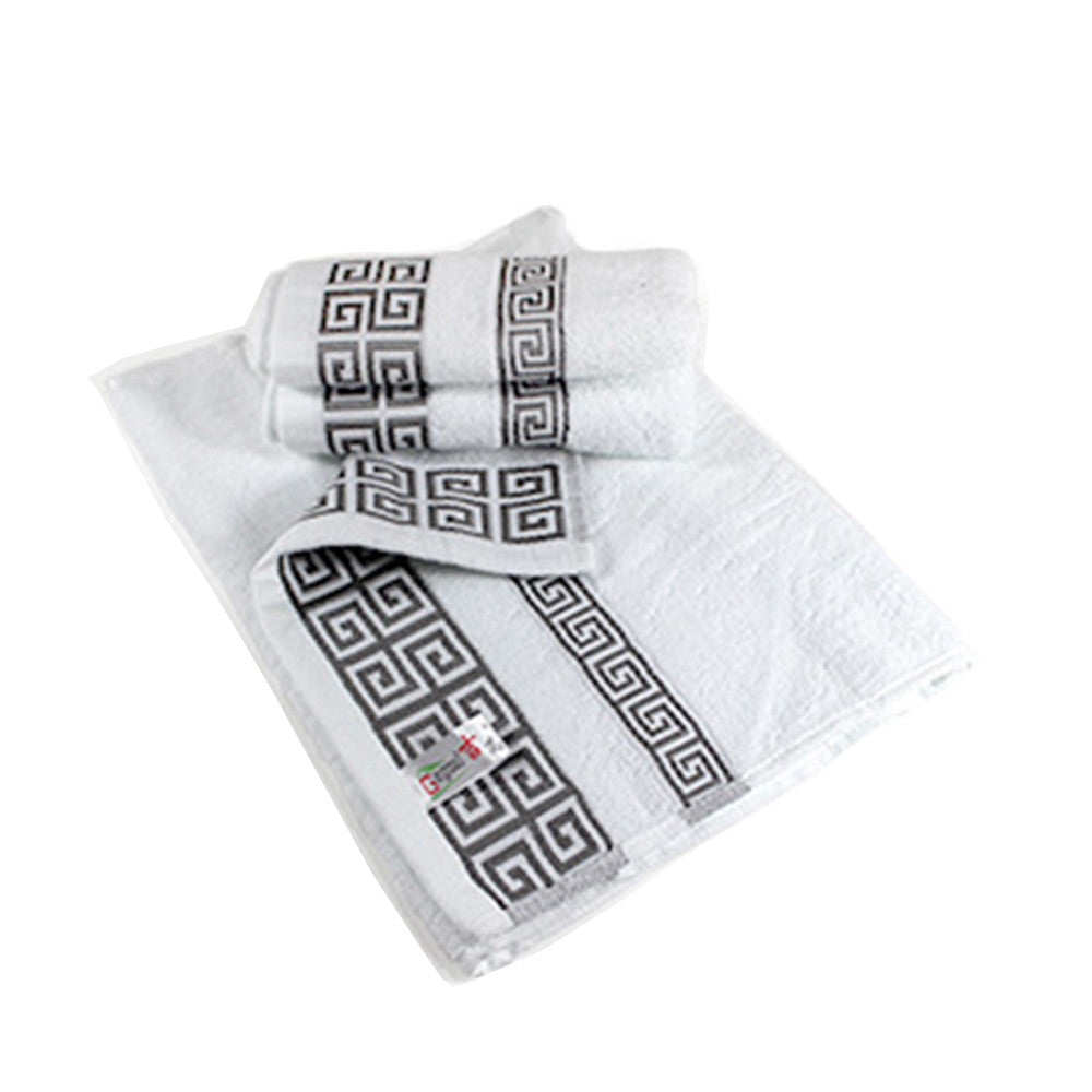 Costbuys  1PC Cotton Towel Luxury Soft Cotton Absorbent Terry Large Bath Sheet Bath Towels Hand Face Breathable Washcloth Solid