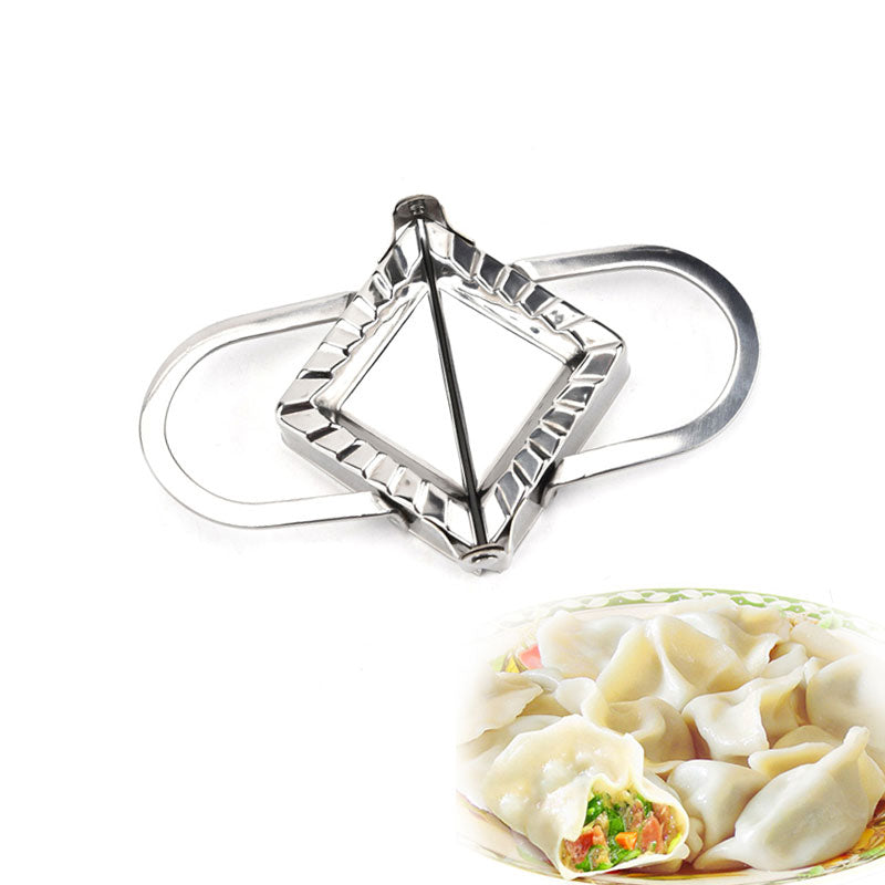 Costbuys  1PCS Stainless Steel  Dumpling Maker Wraper Dough Kitchen Cooking Tool Of Home Kitchen Tools