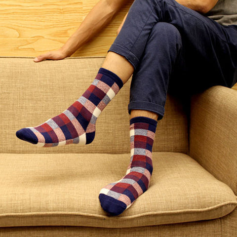 Underwear & Sleepwears 3pair Long Mens Socks Gradient Color Colorful Novelty 3d Funny Socks For Man Chaussettes Homme Business Dress Socks Art Meias Buy One Give One