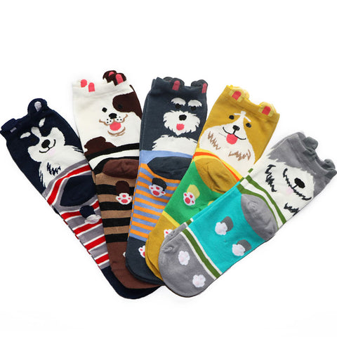 6 Pairs New Fashion Women Men Big Dots Socks Unisex Daily Trendy Street Snap Casual Crew Socks Happy Socks Fashion For Men/Women