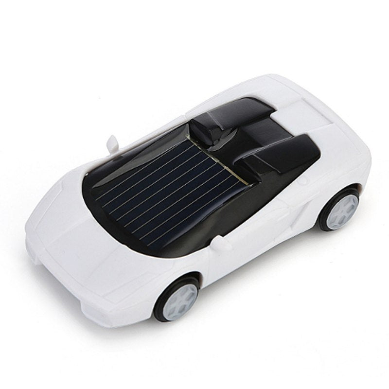 Costbuys  1Pc Novelty Toys Car Momentum Sports Car Brine Solar Energy Double Powered Cars for Kid Children Funny Game Fashionabl