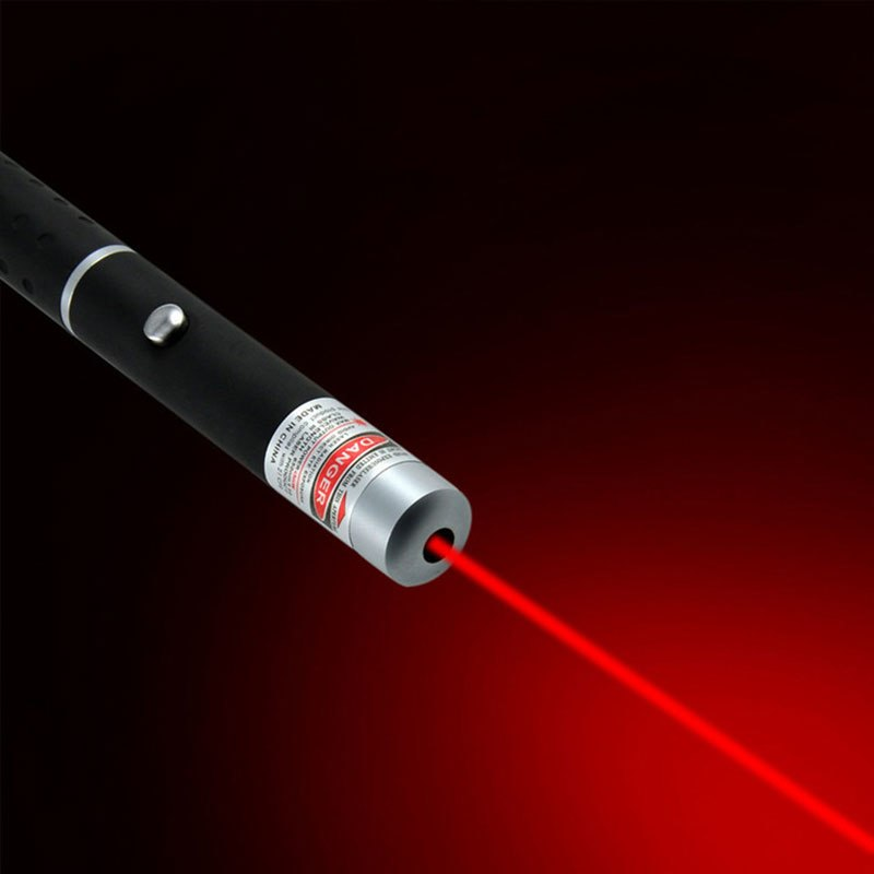 Costbuys  1Pcs 5mW Green  Red Purple Laser Pen Powerful Laser Pointer Presenter Remote Lazer Hunting Laser Bore Sighter - Red