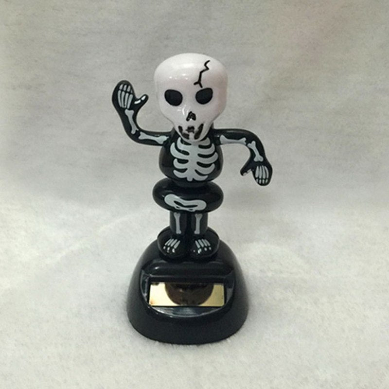 Costbuys  1Pcs Halloween Solar Powered Dancing Bobble Dancer Toy Animal Car Decor Swinging Animated Kids Gift Car Home Decoratio