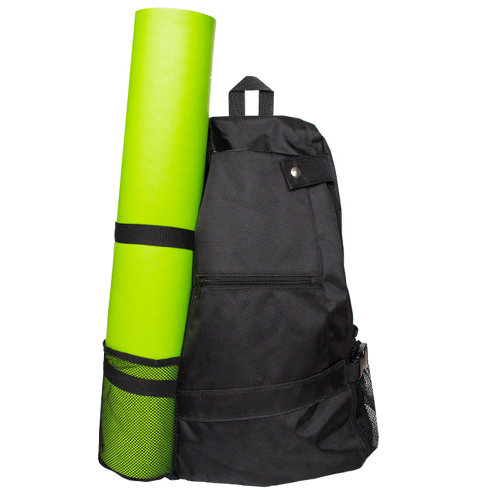Costbuys  1Piece Large Capacity Yoga Multi Purpose Cross-body Gym Bags Pack Bag Outdoor Yoga Sports Cloth Water Bottle Holder Hi