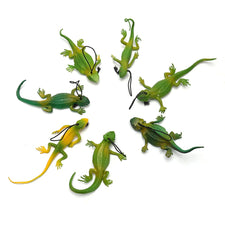1pcs Color Random Small Lizards Trick Fun April Fool's Day Jokes Prank Toy Laughs Gags Pranks Maker Novelty Mischief Halloween