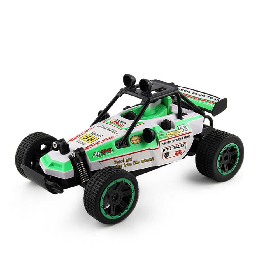 Costbuys  2.4GHZ 2WD Radio Remote Control Off Road RC RTR Racing Car Truck Remote Quadcopter REMOTE CONTROL TOYS - Green / China