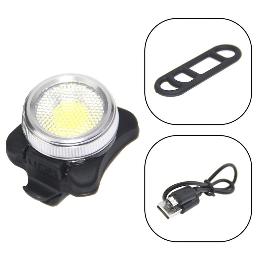 Costbuys  2 color Usb Rechargeable Bike Light Bicycle Accessories Front Handlebar Cycling Led Light Battery Flashlight Torch Hea