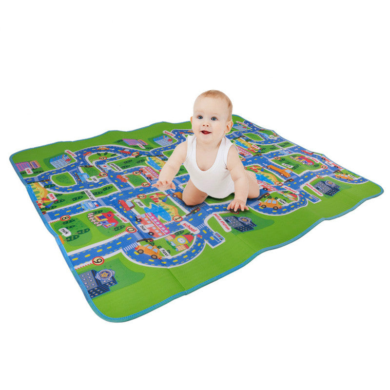Costbuys  2 size Activity children puzzle play mat baby for kids room carpet rug blanket learning educational toys hobbies for b
