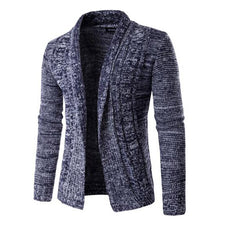 Autumn And Winter Fashion Men's Long-Sleeved Sweater Latest Casual Men's Cardigan Sweater