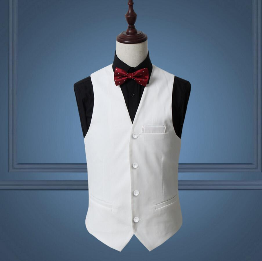Coat Pant Designs White Men Vest Slim Fit Custom Waistcoat Wedding ...