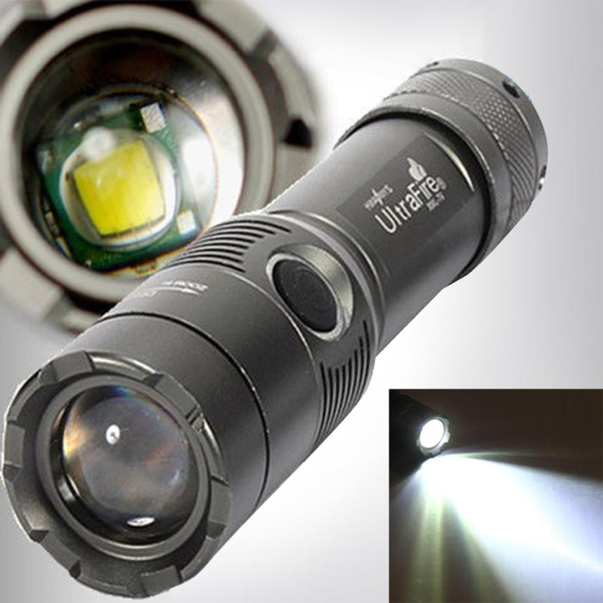 Costbuys  3000Lm UltraFire CREE XML T6 LED Zoomable 18650 AAA Flashlight Torch Light Lamp A89