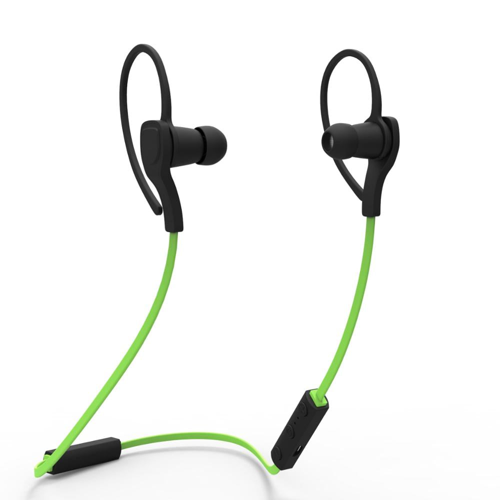 Costbuys  NEW BH-06 Wireless Bluetooth Headphones Stereo Music Sport Earphone EarHook With Mic for ios android smartphone - Gree