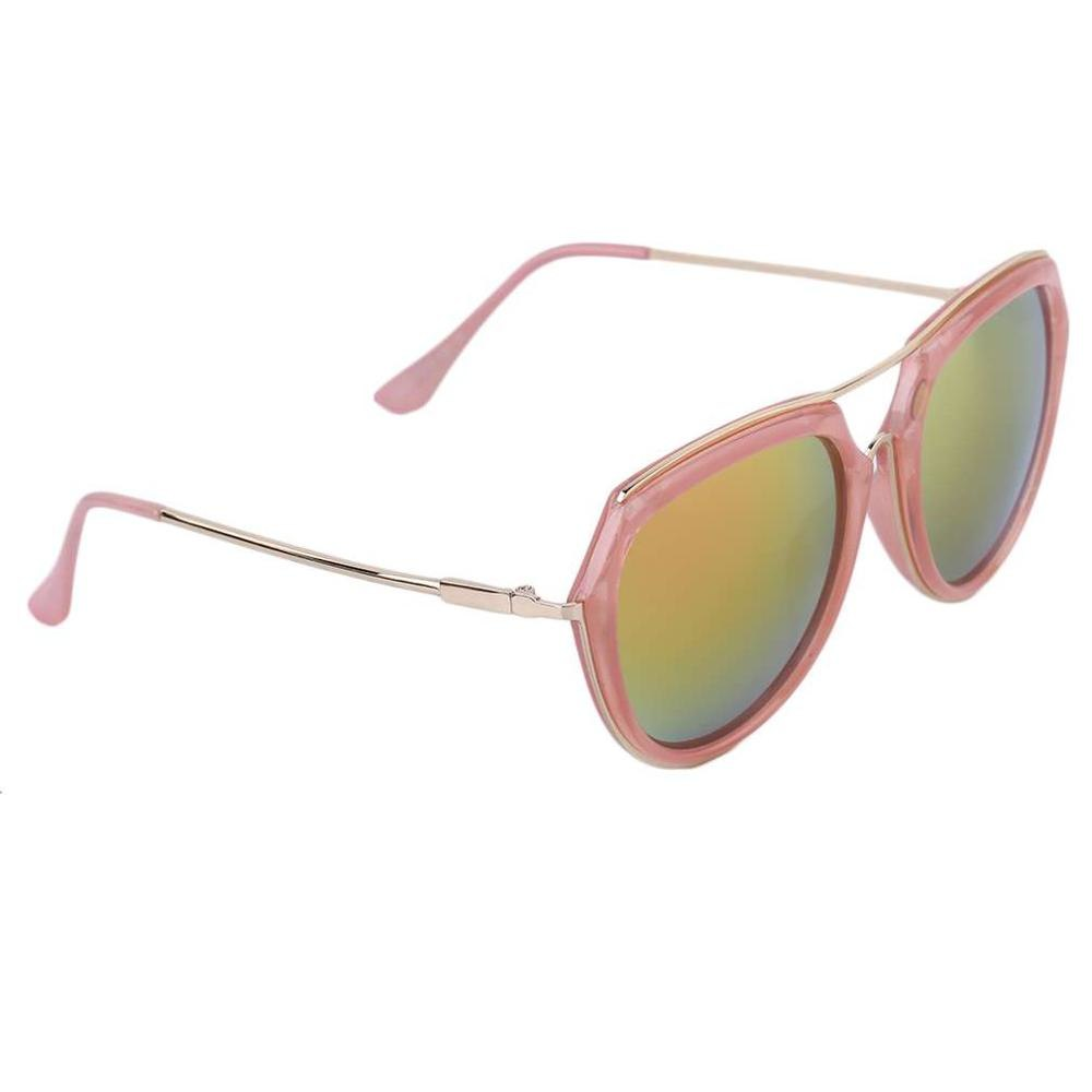 Costbuys  New Trendy Fashion Unique Classic Women Vintage Metal And Plastic Large Frame Oval Shape Lens Sunglasses Men's Sunglas