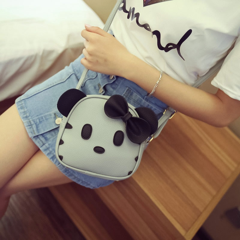Costbuys  New Women Bags Cute Hello Kitty Shoulder Messenger Bags Kawaii Mini Bag Kt Cat Female Handbags Bow tie lady Crossbody