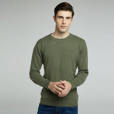 Winter Mens Jumper 100% Pure Cashmere Sweater Round Collar Warm Sweater Men Slim Fit Pullover Knitted Sweaters 6 Color