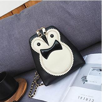 Costbuys  the new fashionable female bag color small round bump han edition cute owl oblique satchel mini shoulder bag Crossbody