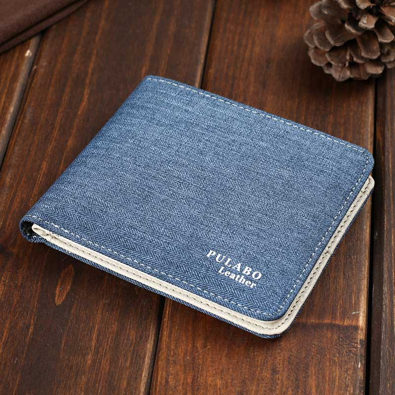 Canvas Mens Wallets Top Quality Wallet Card Holder Multi Pockets Credi Costbuys