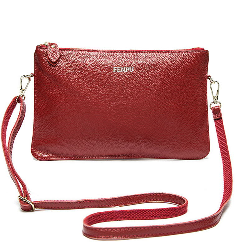 Costbuys  Famous Brand Ladies Genuine Leather Bag Women Messenger Bags Designer Women Bag Cross body Bag For Women Clutches Bols