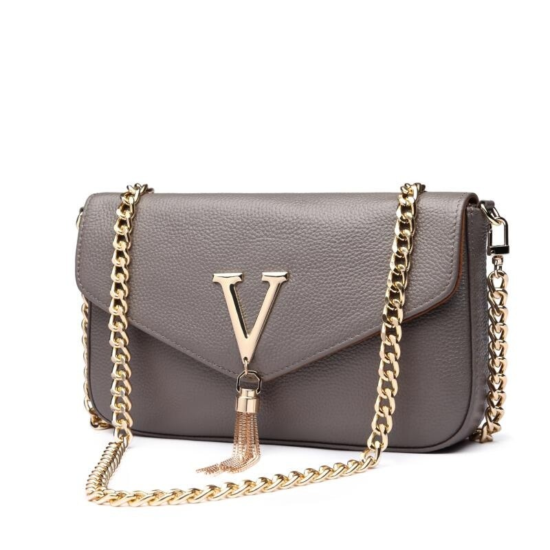 Costbuys  Famous Brands Women Genuine Leather Handbags Designer Women Bag High Quality women Messenger Bags Luxury Crossbody Bag