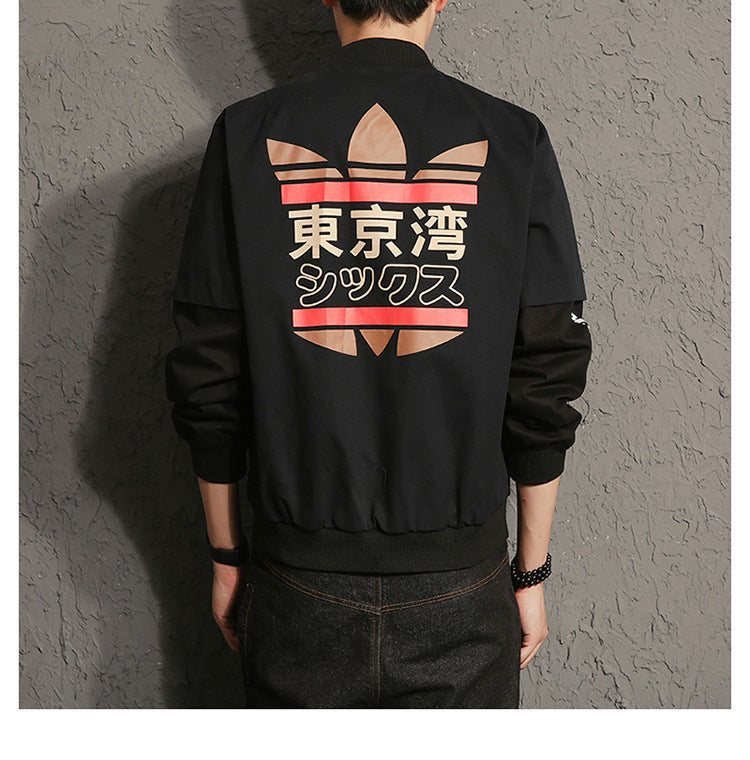 MA1 Male Bomber jacket Coat American College Students Outwear Baseball loose Outerwear for Men Woman