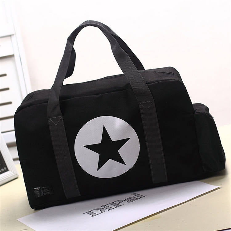Costbuys  Large Capacity Simple Men Bags Women Outdoor Sports Travel Bag Gym Bags Sac A Main Luggage Sack Female Shoulder Yoga B