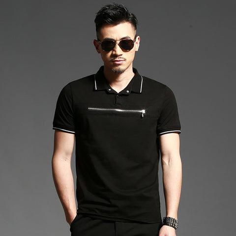 Accept custom diy logo New Men's Polo Shirt Men Cotton Short Sleeve shirt Casual jerseys Plus Size