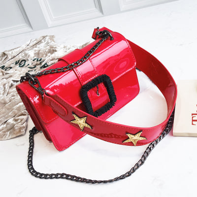 Costbuys  New Arrival Designer Women Bag Hot Sale Handbag Simple PU Leather Handbags Ladies Shoulder Messenger Crossbody Bags 14