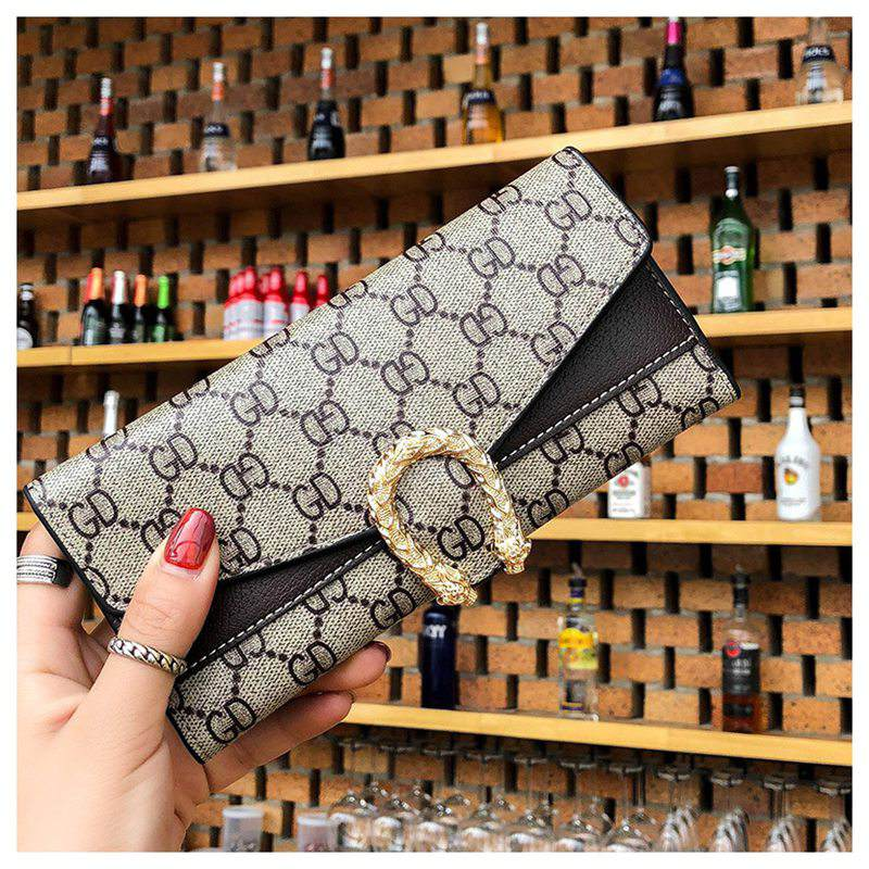 Costbuys  New Brand Women Wallet Purse Female Long Wallet High Quality Female Wallet Purse Credit Card Holder Woman Money Bag -