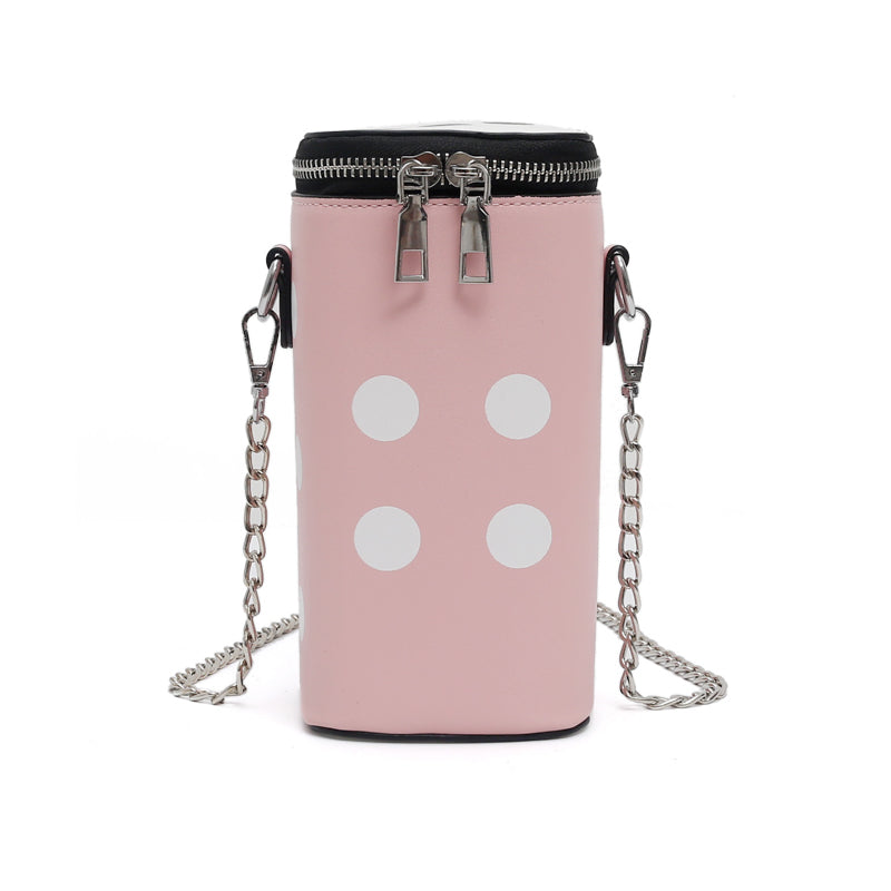Costbuys  New Luxury Design Women Leather Bag Women Chain Small Chain Bag Lady Personality Square Bags Crossbody Bag Portable Ha