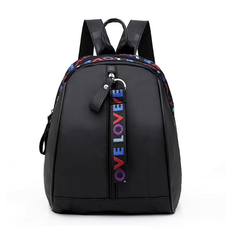 Costbuys  New Women Mini Backpack Black Nylon Small Travel Backpack Women School Bags For Teenage Girls mochilas mujer Small Bag