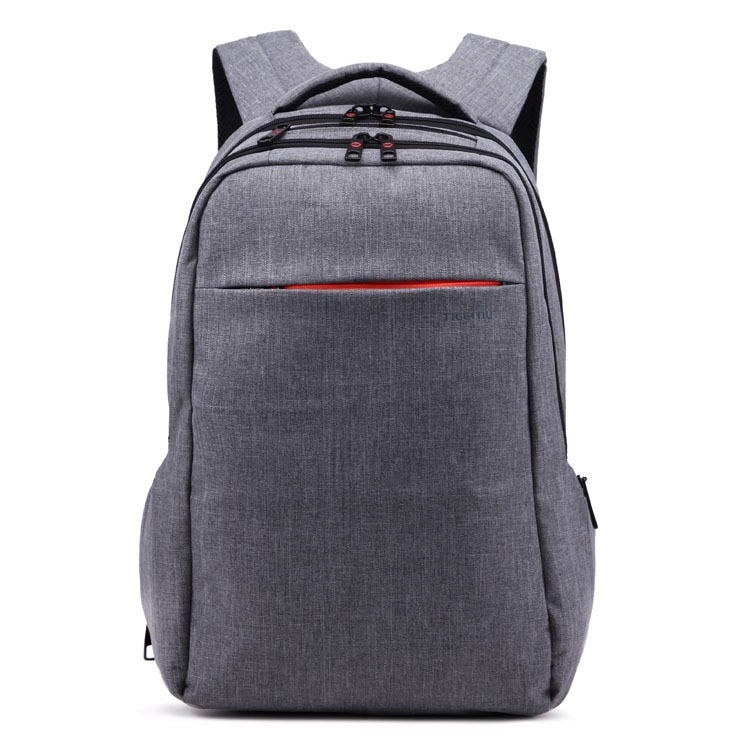 Costbuys  backpack male Waterproof men backpacking backpack Student School Backpack Bag Women Computer Laptop Bag - Dark Grey /